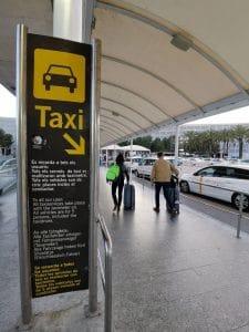 Taxi Rank Mallorca Airport PMI